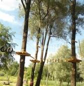 Вандали частково зруйнували мотузковий парк