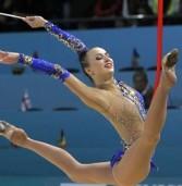 Дві золоті медалі та бронзову здобули українські гімнастки