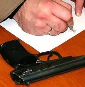 Поліцейські вилучили дві гранати, 70 патронів, вибухівку та артпостріл