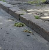 Тротуар на Семидубській почали ремонтувати