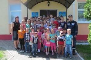 екскурсія діти табір