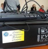 Малозабезпеченим сім'ям з Дубенщини подарували комп'ютери