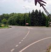 На в'їзді в Дубно постраждав іноземець