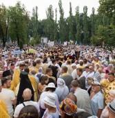 Духовенство та прихожани Дубенщини взяли участь взяли участь у Хресній ході в столиці
