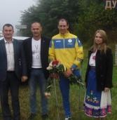 Паралімпієць з Дубенщини повернувся на малу батьківщину