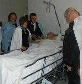 Напередодні Дня захисника дубенчани відвідали госпіталь інвалідів війни