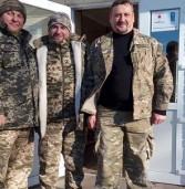 Капелани Дубенщини вчергове відвідали зону АТО (фото)