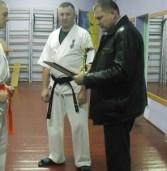 Чемпіон з кіокушин-карате отримав грамоту голови РДА