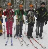 Юні туристи готуються до всеукраїнських змагань з лижного туризму