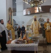 Архієпископ Іларіон очолив заупокійну молитву за Олегом Кривенчуком (фото)