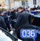 Поліцейських спіймали на 40 літрах (фото)
