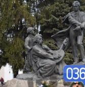 Як у Дубні відзначали 203-ю річницю від дня народження Тараса Шевченка (фото)