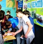 Дубенчанин провів розминку для дітей з Млинівщини