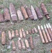 Піротехніки знищили 30 боєприпасів