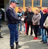 Вихованці школи-інтернату завітали в гості до рятувальників