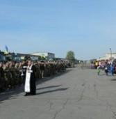 Більше сотні військових відправились в зону АТО