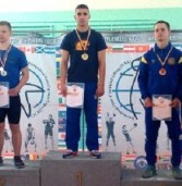 На Чемпіонаті України гирьовики завоювали три золотих медалі