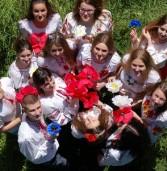 Молодь Дубна провела патріотичний флешмоб (фото)