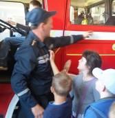 Школярі завітали на екскурсію в пожежну частину (фото)