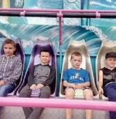 Діти соціальних категорій безкоштовно відвідали розважальні атракціони
