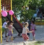 У місті з'являються нові дитячі майданчики