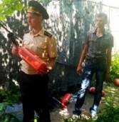 Працівників адміністрації навчали користуватись вогнегасниками