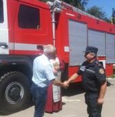 Надзвичайники отримали новий пожежний автомобіль
