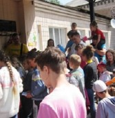 Американці на Дубенщині організували пришкільний табір