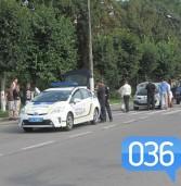 Рівненські патрульні попали в ДТП у Дубні (фото)