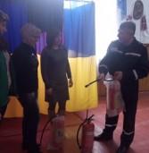 Рятувальники інструктували членів виборчих дільниць