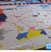 Голкою повертали Крим та Донецьк (фото)