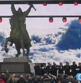 Пам'ятник у Дубні відкривали генпрокурор і Міністр культури України, а освячував – Святійший Патріарх (фото)