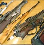 120 боєприпасів та 19 одиниць зброї здали поліцейським на Рівненщині
