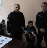 13-річний хлопчик – призер конкурсу малюнків на поліцейсько-охоронну тематику