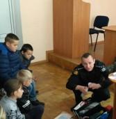 Поліцейські провели уроки виховання школярам