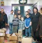 Завезли подарунки не лише дітям Сходу, але й захисникам на позиціях