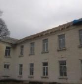 В двох школах району ремонтують дах