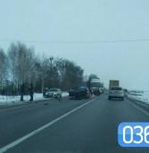 На трасі Київ-Чоп сталась ДТП