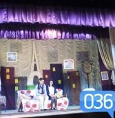 Актори-аматори підкорювали публіку комедійною виставою