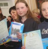 Школярка привезла нагороду з Всеукраїнського конкурсу екскурсоводів