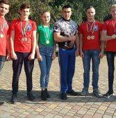 Привезли з чемпіонату України 8 нагород