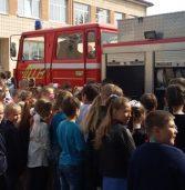 Рятувальники у школі провели День цивільного захисту