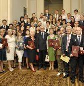 Спікер вручив премію Верховної Ради керівнику навчального закладу (фото)