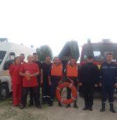 Рятувальники здали заліки та попрактикувалися в порятунку потопаючого