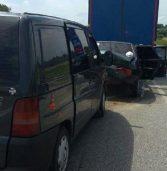 Через зіткнення трьох автівок постраждали троє людей