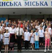 Гості з Польщі у міській раді співали українські пісні