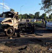 Смертельне ДТП: один водій згорів, інший – у реанімації