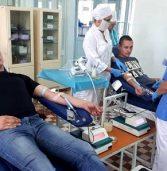 На 8 літрів поліцейські поповнили банк крові