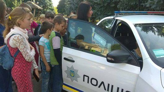 З школярами говорили про безпеку на дорозі