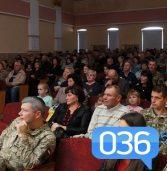 Військові пригощали кашею та отримували привітання (фото)